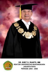 rektor universitas bhayangkara 2
