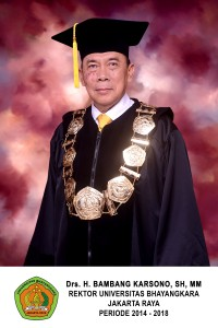 rektor universitas bhayangkara 5
